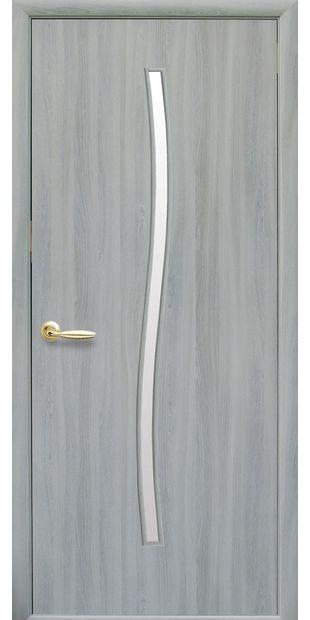 Межкомнатные двери Гармония со стеклом сатин garmonia-7