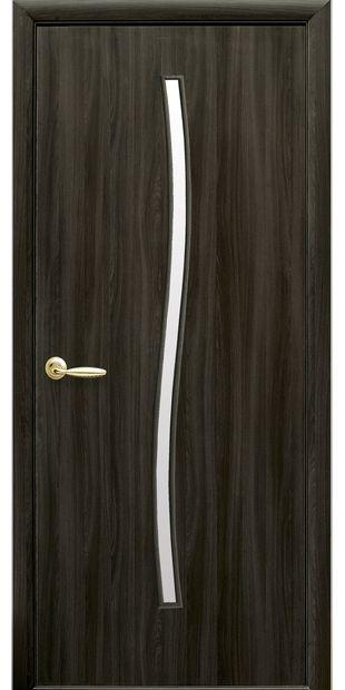 Межкомнатные двери Гармония со стеклом сатин garmonia-8