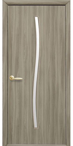 Межкомнатные двери Гармония со стеклом сатин garmonia-9
