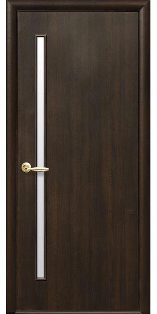 Межкомнатные двери Глория со стеклом сатин gerda-24