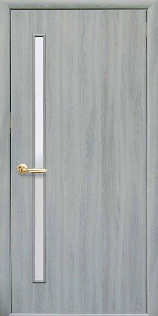 Межкомнатные двери Глория со стеклом сатин gloria-25