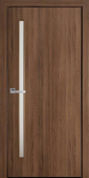 Межкомнатные двери Глория со стеклом сатин gerda-28
