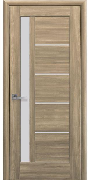 Межкомнатные двери Грета со стеклом сатин greta-27