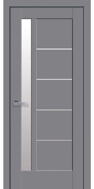 Межкомнатные двери Грета со стеклом сатин greta-29