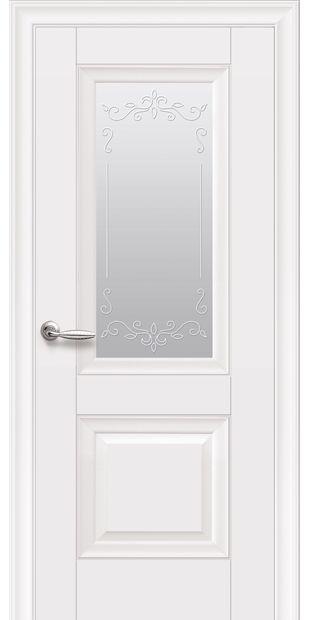Межкомнатные двери Image без молдинга со стеклом сатин и рисунком image-8