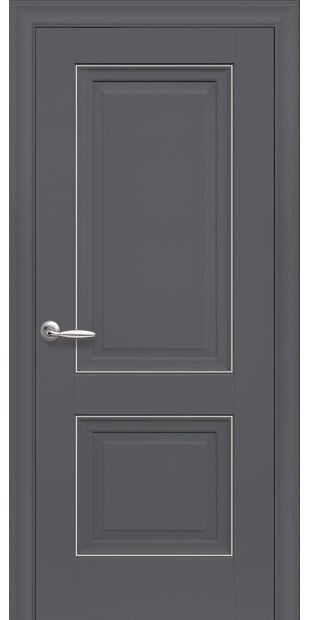 Межкомнатные двери Имидж Глухое с молдингом imidz-3