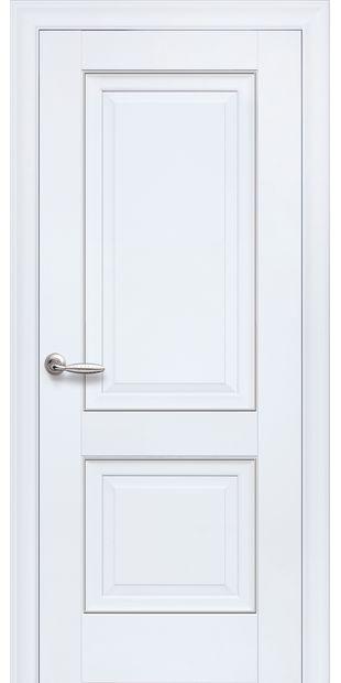 Межкомнатные двери Имидж Глухое с молдингом imidz-4