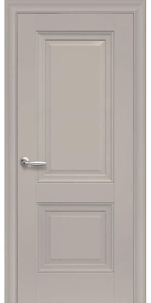 Межкомнатные двери Имидж Глухое с молдингом imidz