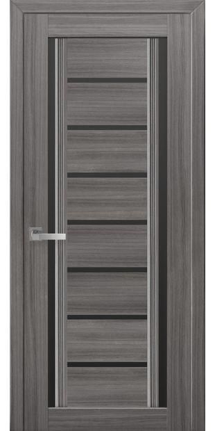 Межкомнатные двери Флоренция С2 с черным стеклом italjano-florencija-s2-smart-zhemchug-grafit-s-chernym-steklom