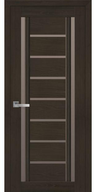 Межкомнатные двери Флоренция С2 с бронзовым стеклом italjano-florencija-s2-smart-zhemchug-kofejnyj-s-bronzovym-steklom