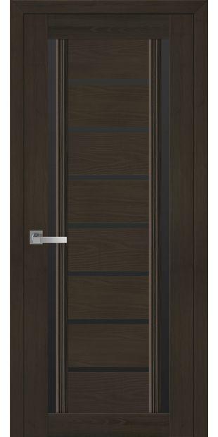 Межкомнатные двери Флоренция С2 с черным стеклом italjano-florencija-s2-smart-zhemchug-kofejnyj-s-chernym-steklom