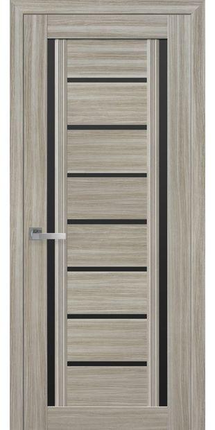 Межкомнатные двери Флоренция С2 с черным стеклом italjano-florencija-s2-smart-zhemchug-magica-s-chernym-steklom