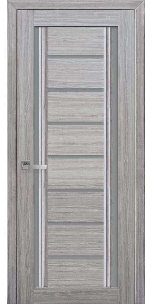 Межкомнатные двери Флоренция С2 с графитовым стеклом italjano-florencija-s2-smart-zhemchug-serebrjanyj-s-grafitovym-steklom