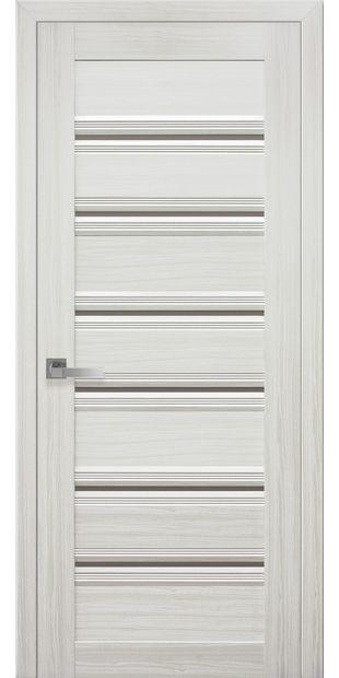 Межкомнатные двери Венеция С1 italjano-venecija-s1-smart-zhemchug-belyj-s-bronzovym-steklom
