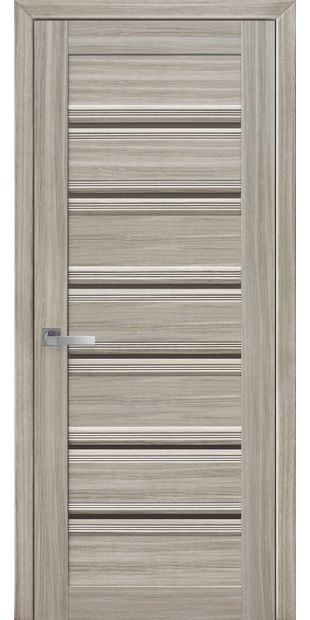 Межкомнатные двери Венеция С1 italjano-venecija-s1-smart-zhemchug-magica-s-bronzovym-steklom