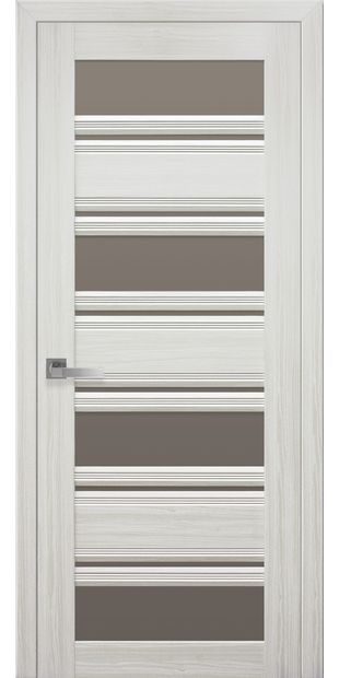 Межкомнатные двери Венеция С2 с бронзовым стеклом italjano-venecija-s2-smart-zhemchug-belyj-s-bronzovym-steklom