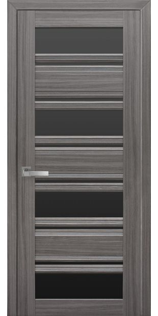 Межкомнатные двери Венеция С2 с черным стеклом italjano-venecija-s2-smart-zhemchug-grafit-s-chernym-steklom