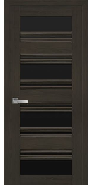 Межкомнатные двери Венеция С2 с черным стеклом italjano-venecija-s2-smart-zhemchug-kofejnyj-s-chernym-steklom