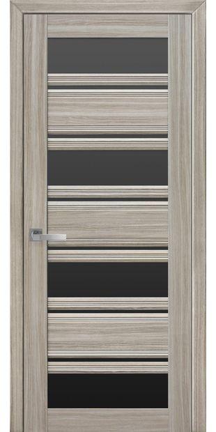 Межкомнатные двери Венеция С2 с черным стеклом italjano-venecija-s2-smart-zhemchug-magica-s-chernym-steklom