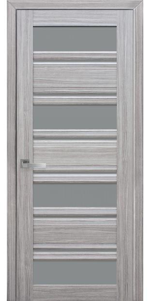 Межкомнатные двери Венеция С2 с графитовым стеклом italjano-venecija-s2-smart-zhemchug-serebrjanyj-s-grafitovym-steklom