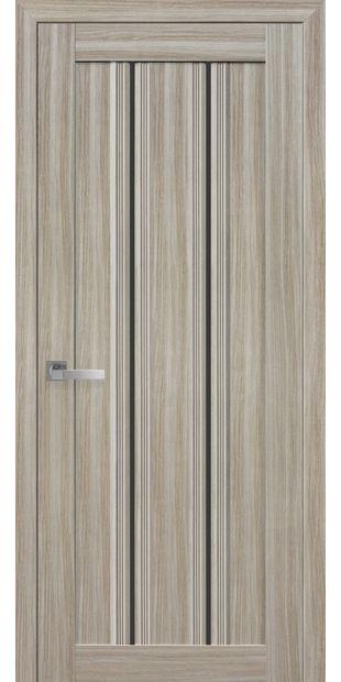 Межкомнатные двери Верона С1 с черным стеклом italjano-verona-s1-smart-zhemchug-magica-s-chernym-steklom