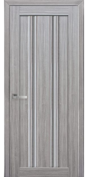 Межкомнатные двери Верона С1 с графитовым стеклом italjano-verona-s1-smart-zhemchug-serebrjanyj-s-grafitovym-steklom