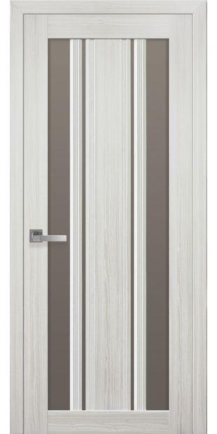 Межкомнатные двери Верона С2 italjano-verona-s2-smart-zhemchug-belyj-s-bronzovym-steklom
