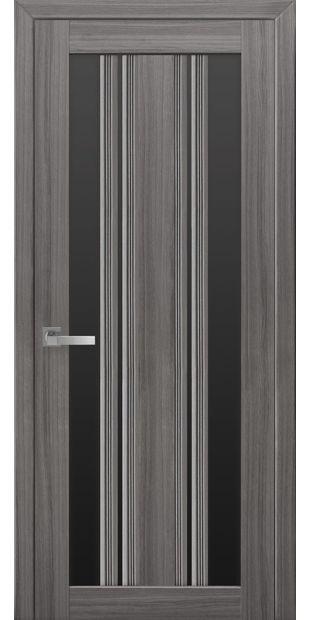 Межкомнатные двери Верона С2 с черным стеклом italjano-verona-s2-smart-zhemchug-grafit-s-chernym-steklom