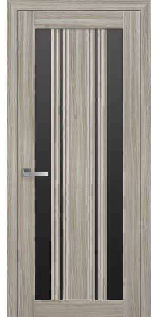 Межкомнатные двери Верона С2 с черным стеклом italjano-verona-s2-smart-zhemchug-magica-s-chernym-steklom