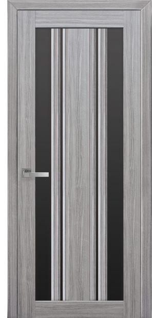 Межкомнатные двери Верона С2 с черным стеклом italjano-verona-s2-smart-zhemchug-serebrjanyj-s-chernym-steklom