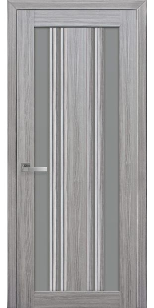 Межкомнатные двери Верона С2 с графитовым стеклом italjano-verona-s2-smart-zhemchug-serebrjanyj-s-grafitovym-steklom