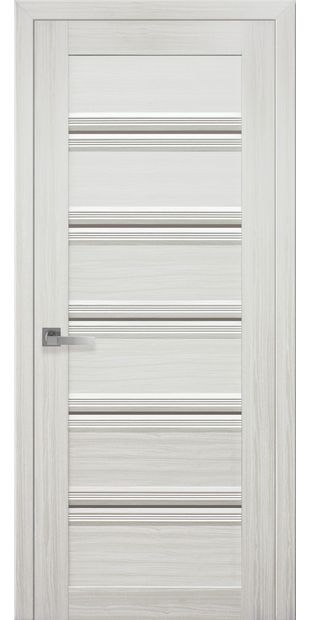 Межкомнатные двери Виченца С1 italjano-vichenca-s1-smart-zhemchug-belyj-s-bronzovym-steklom