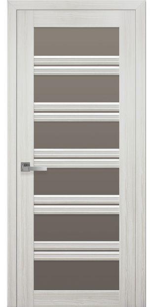 Межкомнатные двери Виченца С2 italjano-vichenca-s2-smart-zhemchug-belyj-s-bronzovym-steklom