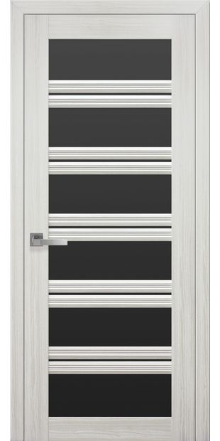 Межкомнатные двери Виченца С2 с черным стеклом italjano-vichenca-s2-smart-zhemchug-belyj-s-chernym-steklom