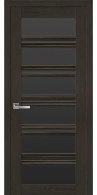 Межкомнатные двери Виченца С2 с черным стеклом italjano-vichenca-s2-smart-zhemchug-kofejnyj-s-chernym-steklom