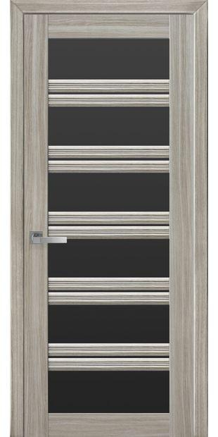 Межкомнатные двери Виченца С2 с черным стеклом italjano-vichenca-s2-smart-zhemchug-magica-s-chernym-steklom
