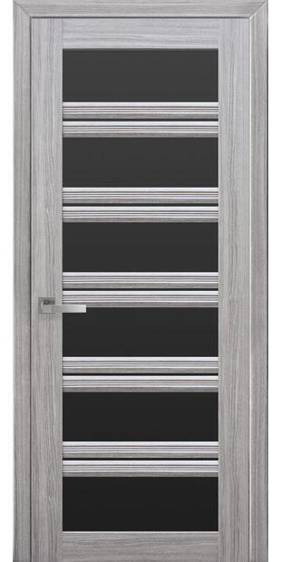 Межкомнатные двери Виченца С2 с черным стеклом italjano-vichenca-s2-smart-zhemchug-serebrjanyj-s-chernym-steklom