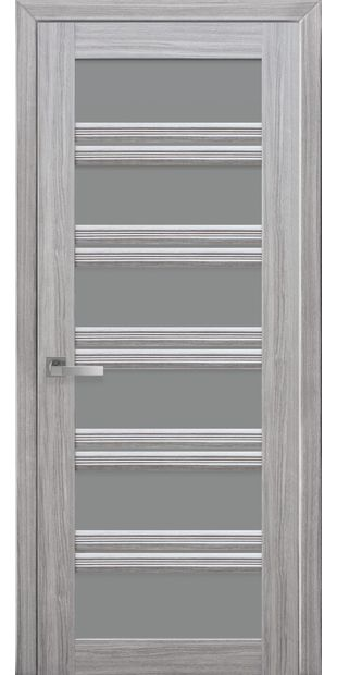Межкомнатные двери Виченца С2 с графитовым стеклом italjano-vichenca-s2-smart-zhemchug-serebrjanyj-s-grafitovym-steklom