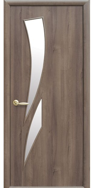 Межкомнатные двери Камея со стеклом сатин kamea-3