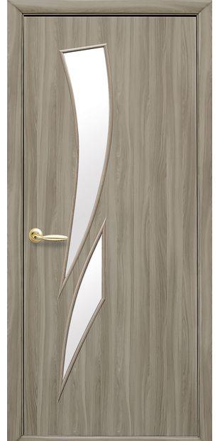 Межкомнатные двери Камея со стеклом сатин kamea-30