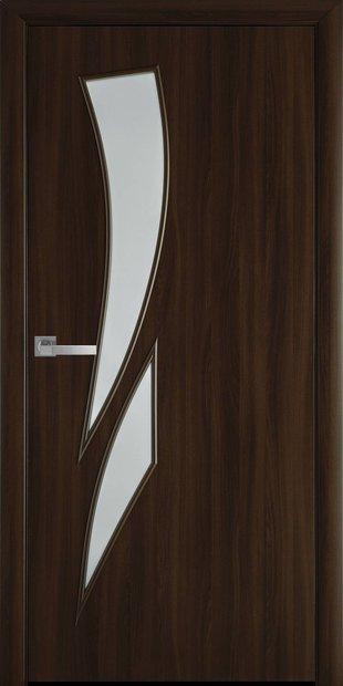 Межкомнатные двери Камея со стеклом сатин kamea-41
