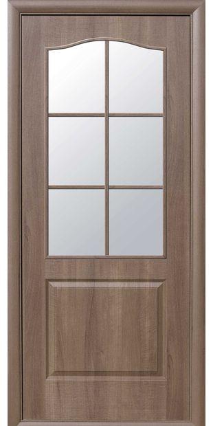 Межкомнатные двери Классик со стеклом сатин klassik-14
