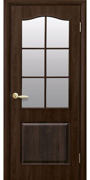 Межкомнатные двери Классик со стеклом сатин klassik-34