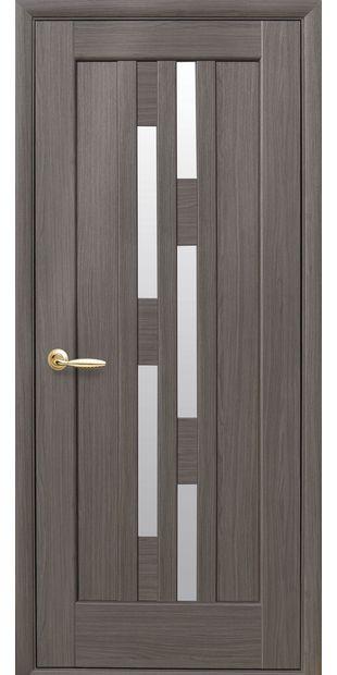 Межкомнатные двери Лаура со стеклом сатин laura-1