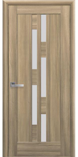 Межкомнатные двери Лаура со стеклом сатин laura-12