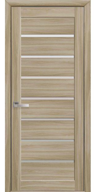 Межкомнатные двери Леона со стеклом сатин leona-10
