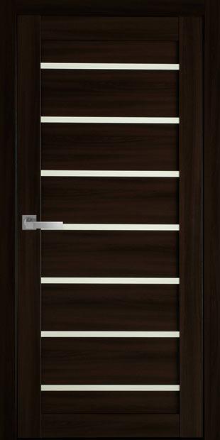 Межкомнатные двери Леона со стеклом сатин leona-11