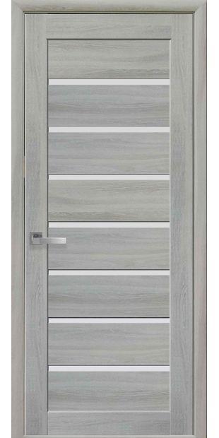 Межкомнатные двери Леона со стеклом сатин leona-7