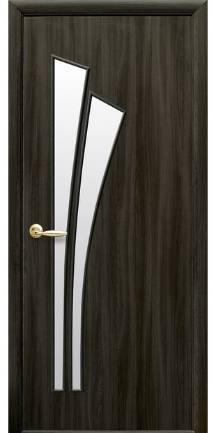 Межкомнатные двери Лилия со стеклом сатин liliya-1