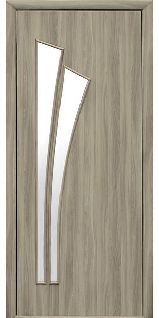 Межкомнатные двери Лилия со стеклом сатин liliya-3